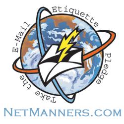 Email Etiquette Pledge Logo 250 pixels