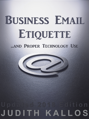 2018 Business Email Etiquette eBook