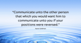 Courtesy in Email Communications will ripple through your relationships.